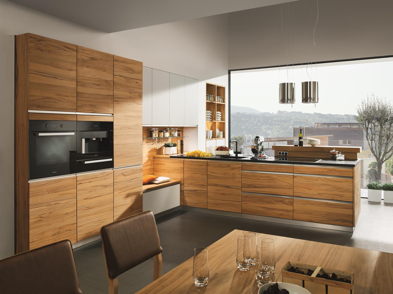 bildergalerie küche - wohnwiese jette schlund ellingen - team 7 - Kchen Mit Holz