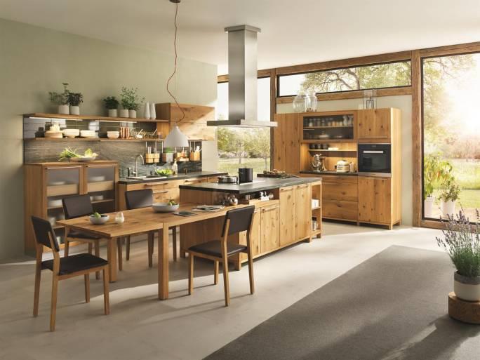 komplette Küchen aus Massivholz
