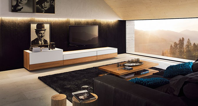 team 7 cubus wohnwand home entertainment wohnw nde. Black Bedroom Furniture Sets. Home Design Ideas
