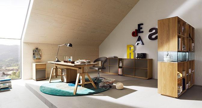 schreibtisch aus massivholz schreibtische aus holz. Black Bedroom Furniture Sets. Home Design Ideas