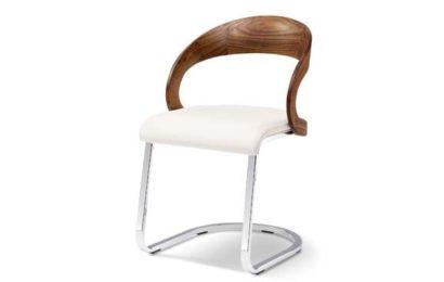 Girado Stühle – Freischwinger aus Holz