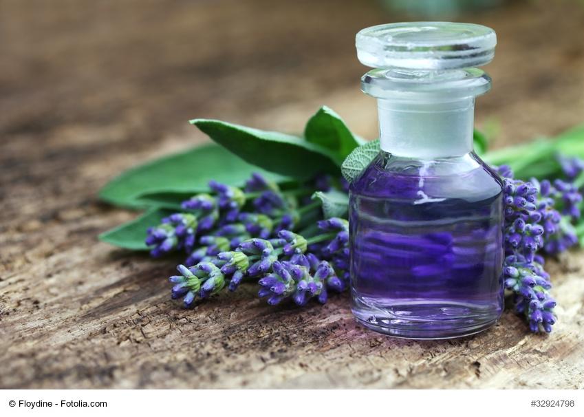 Duftendes Lavendelbad