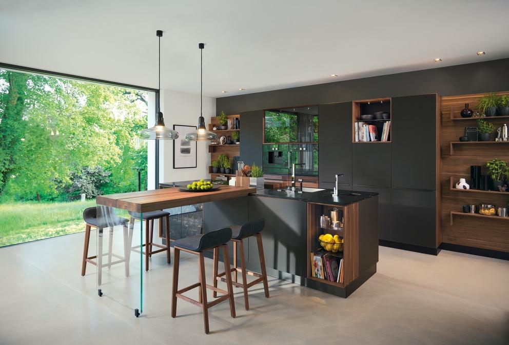 Küche Black Line