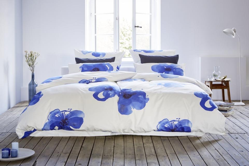 Bettwäsche Blaue Anemone